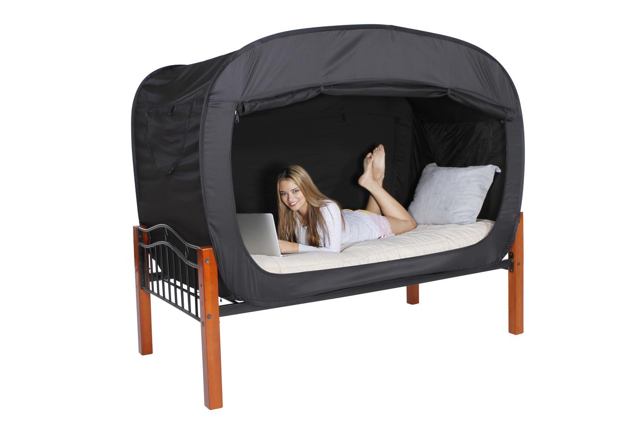 1人ぼっちになれるベッド「Praivacy Pop Bed Tent」が素敵