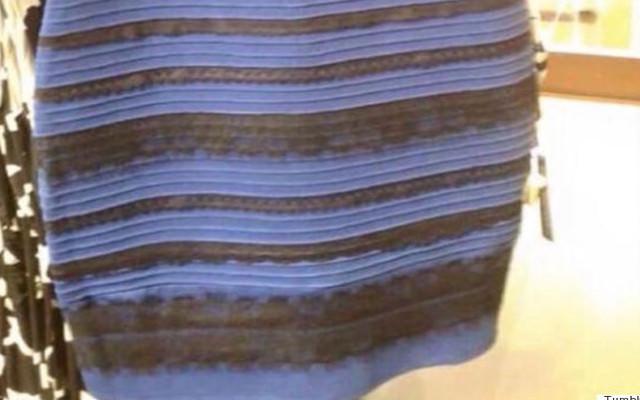 「なぜ青と黒がみえないの」話題のドレスがDV防止広告に